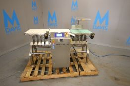 Mettler Toledo Check Weigher,M/N Beltweigh XC, S/N 36600946, 110 Volts, 1 Phase, with Aprox. 15-1/