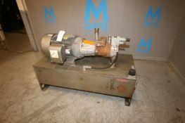 Calkins 30 hp Hydraulic Pump,