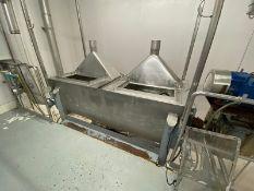 2,000 lb. S/S Ribbon Blender (Blender #2) (INV#78118)(Located @ the MDG Showroom - Pittsburgh, PA)(