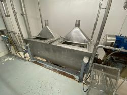2,000 lb. S/S Ribbon Blender (Blender #2) (INV#78118)(Located @ the MDG Showroom - Pittsburgh, PA)(