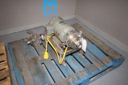 Waukesha 5 hp Centrifugal Pump,M/N 2045, S/N 135441, with Baldor 3450 RPM Motor, 230/460 Volts, 3