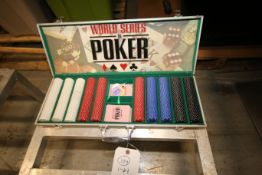 World Class Poker Kit with Case(INV#78241)(Located @ the MDG Showroom - Pgh., PA)(Rigging, Loading &