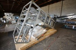 """L - Shaped Conveyor Elevator, Aprox. Overall Dim. 117"""" H x 53"""" W x 80"""" L) (INV#69233) (Located at"""