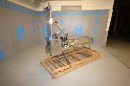 Line Source S/S Inclined Conveyor, M/N CV8016,