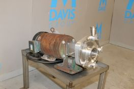 """Fristam Aprox. 10 hp Centrifugal Pump, M/NFP1732-165, S/N FP175229739919, with Aprox. 2"""" x 3"""""""