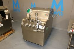 Cherry Burrell Superhom Homogenizer, M/N SS-21200-VBR, S/N 720255-701 (INV#78122)(Located @ the