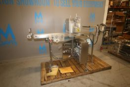 """Capway Systems S/S Dough Cutter, with Aprox. 92"""""""