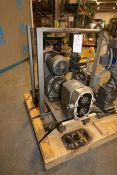 """APV Crepaco 5 hp Positive Displacement Pump,Size: R4R, S/N E-4936, with Aprox. 2"""" Thread Type"""