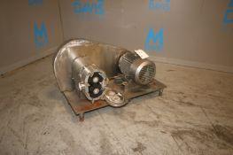 Tri-Clover 5 hp Positive Displacement Pump,
