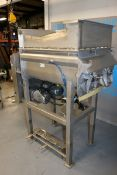 E-Quip 500 lb. Dual Paddle Blender, M/N 301, Factory No.: 148, with (2) Motors,