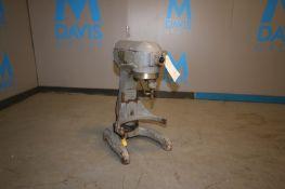 Hobart Commercial Mixer, Model A - 200, SN