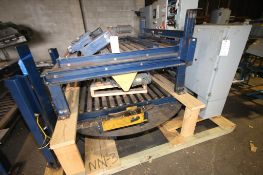 """3 - Pcs Conveyor Beds, Includes 78"""" Lx 52"""" W Conveyor Rotating Bed with Drive, (2) 5 ft L x 52"""" W"""