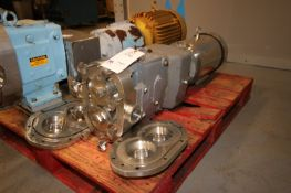 WCB 5 hp Positive Displacement Pump,with Gator 1175/860 RPM S/S Clad Motor, 208-230/460 Volts, 3