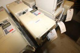 Yaskawa Vari-Speed F7 VFD,M/N CIMR-F7V47P5, 480 Volts-17.0A 6A (INV#77973)(Located @ the MDG