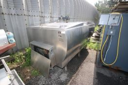 Mueller 1,000 Gal. S/S Farm Tank, with Hinged Lid, M/N M, S/N 32966, with Freon Jacketed, 4-Prop