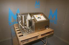 Microfluidics S/S Laboratory Homogenizer,M/N M110PII-20K, S/N 2011064, 110 Volts (INV#78138)(Located