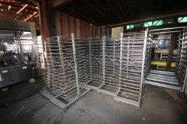 (17) Portable S/S Bakers Racks with (17) PositionOn Each Side (INV#66174)(Located at MDG Auction