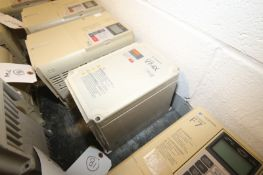 Yaskawa V7-4X VD VFD,M/N CIMR-V7CU21P5, 230 Volts-8.0A 6A (INV#77972)(Located @ the MDG Showroom -