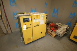 Kaeser Sigma 25 hp Air Compressor,M/N AS 25, S/N 1363, 125 PSIG, 208/230/460 Volts, 3 Phase, with