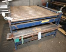 """2 - Pcs Conveyor Beds, 5 ft L x 52"""" W,both with Drives (INV#74658)(Located @ the MDG Auction"""