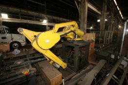 2000 Fanuc Robot,M/N M-410i HS, Type A05B-1037-B211, S/N R00Y46338, Mounted on Stand with Controller