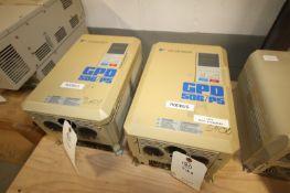 Yaskawa Vari-Speed F7 VFD,M/N CIMR-F7U4030, 480 Volts-60.0A (INV#77977)(Located @ the MDG Showroom -