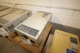 Yaskawa Vari-Speed F7 VFD,M/N CIMR-F7U4030, 480 Volts-60.0A (INV#77978)(Located @ the MDG Showroom -