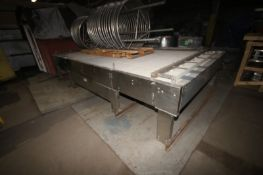 """Sentry S/S Accumulation Table,Overall Dims.: Aprox. 15' L x 8' W x 37"""" H (INV#68325)(LOCATED IN"""
