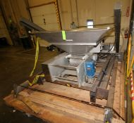 "18"" S/S Dough Chunker, with 67"" W x 67"" L x 35"" DHopper, Drive Motors, Operators Deck & Frame,"