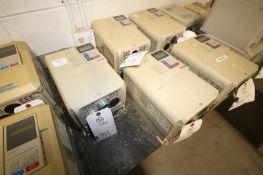 Yaskawa Vari-Speed F7 VFD,M/N CIMR-F7V47P5, 480 Volts-17.0A 6A(INV#77974)(Located @ the MDG Showroom