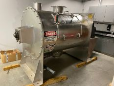 Processall 2,000 Liter Plow Blender/Mix Mill,M/N 2000H 18, S/N 18, Working Volume 20-50 Cubic