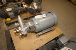 """Fristam Aprox. 10 hp Centrifugal Pump, M/NFPX3522-125, S/N FPX35220401454, with Aprox. 2"""" x 3"""" Clamp"""