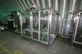 Nuspark Casing System, M/N NCP-25, S/N 1163, with(1) (12) Head Suction Cup Pick N' Place Machine, (