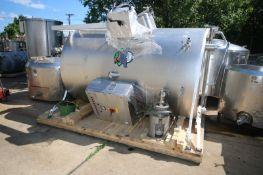 Munker/Braulogistik 15hL Combination MashTun/Kettle, M/N Brewhouse, S/N 1, 208 Volts, 3 Phase,