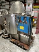 """Aprox. 200 Gal. S/S Mixing System,Tank Internal Dims.: Aprox. 37"""" Deep x 40"""" Dia., with S/S Hinge"""