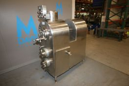 P.M.S. S/S Single Barrel Ice Cream Freezer,with (2) Positive Displacement Heads, with Aprox. 2-1/