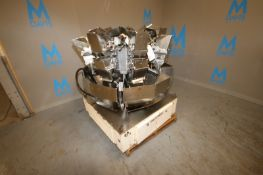 Ishida 8-Head Rotary Filler Scale,M/N CCW-Z, S/N 17018, 208 Volts, 3 Phase (NOTE: Does Not Include