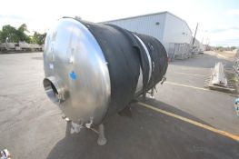 HDP Brewing System Aprox. 1,500 Gal. S/S JacketedTank, M/N CONDITIONING VESSEL 45 HL, S/N CV45