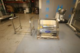 ABS Baguette Moulder,M/N SM380, S/N 509018, 220 Volts, 3 Phase, with Portable S/S Stand (INV#