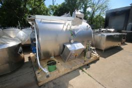 Munker/Braulogistik 15hL Combination MashTun/Kettle, M/N Brewhouse, S/N 1, 208 Volts, 3 Phase, with