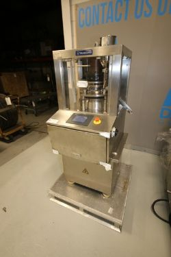 Vanguard 16-Station Tablet Press, with Pro-Face Digital Display, with (2) S/S Discharge Chutes, Moun