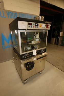 Manesty 34-Station Tablet Press, M/N EQ-034, with (2) S/S Hoppers, with Base & Enclosure (INV#80688)