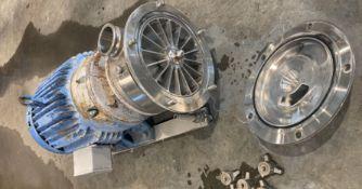 Fristam Liquid Ring Pump, Model FZX250, S/N FZX2500983227 (Located New Bothwell, Manitoba, Canada)