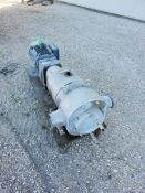 """APV 15 hp Positive Displacement Pump, Model DW5/256/7 with 4"""" S/S Head, 230/460 V (Located New"""