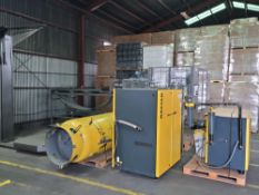 BULK BID LOT # 94 TO #96 - Kaeser Compressor System includes Compressor, Dryer and Receiving Tank