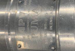 """APV Centrifugal Pump, Model PUMA-1-1/2"""", S/N A1656 (Located New Bothwell, Manitoba, Canada)"""