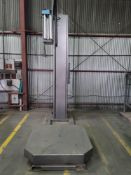 Cousins Packaging Turntable Automatic Pallet Stretch Wrapper, Model HPSW-A, S/N 220615-SAH-11569