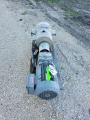 """APV 15 hp Positive Displacement Pump, Model DW5/256/7, S/N 10000581 with 4"""" S/S Head, 230/460 V ("""