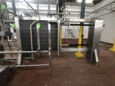 BULK BID LOTS 190 THROUGH 204, 2017 AGC S/S Plate Press, Model PRO31H, SN 201719S, with Self