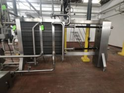 BULK BID LOTS 190 THROUGH 204, 2017 AGC S/S Plate Press, Model PRO31H, SN 201719S, with Self